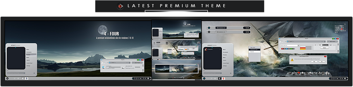 Premium Windowblinds Theme