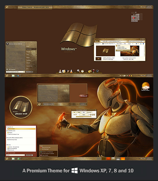 Midas Touch Theme