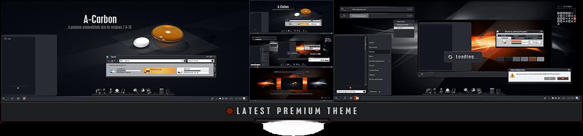 Premium Master Windowblinds Theme