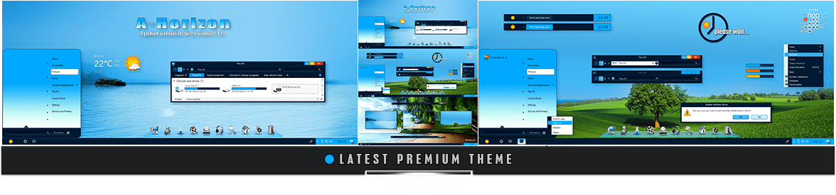 Premium Master Windowblinds Theme