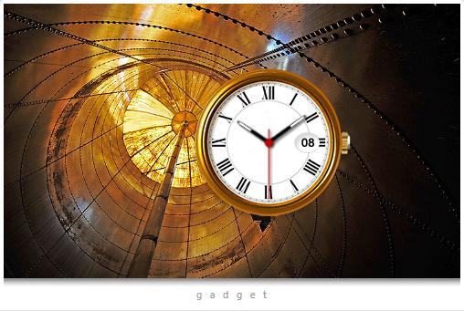 Analog Clock A 2 Gadget
