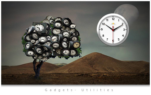 Calendar Clock Wallpaper : Free computer desktop clock and calendar pictbox