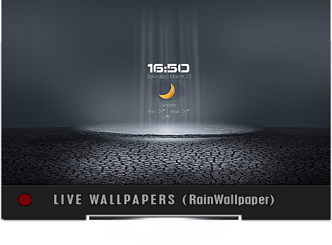 RainWallpaper Animated Wallpapers