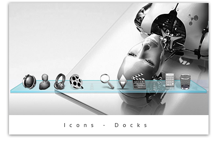 Icons and docks
