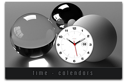 Time - Clocks and Calendars