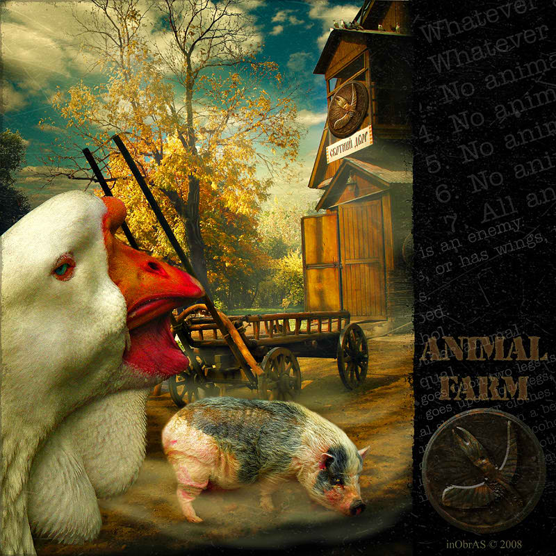 Animal farm propaganda essay
